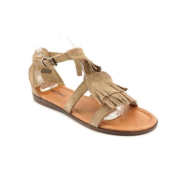 Minnetonka Maui Women Open Toe Suede Brown Gladiator Sandal