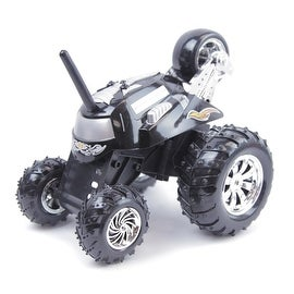 RC Stunt Rumbler Rally Car Black