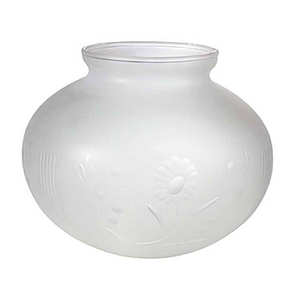 Lamp Shade White Milk Gl Globe 3 1 4 Er 5 H 6