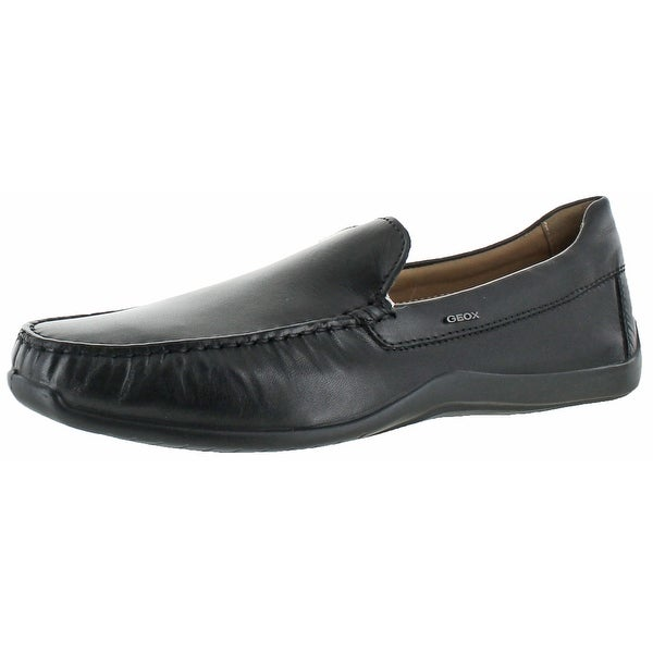 Geox U Xense Mox Mens Loafer Driving Moccasins Shoes