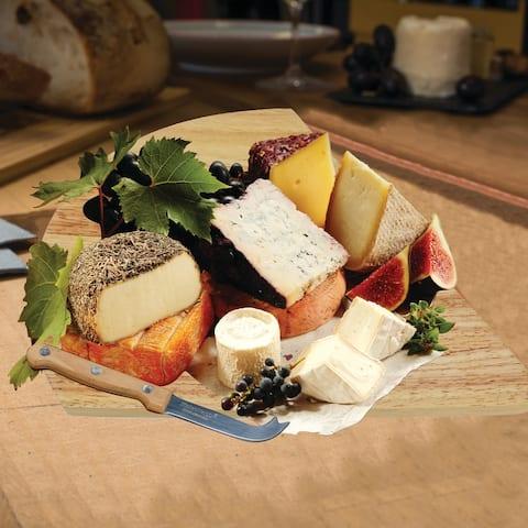 KitchenWorthy 2 Piece Cheese Set