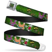 Aaahh!!! Real Monsters Logo Full Color Green Aaahh!!! Real Monsters Ickis Seatbelt Belt