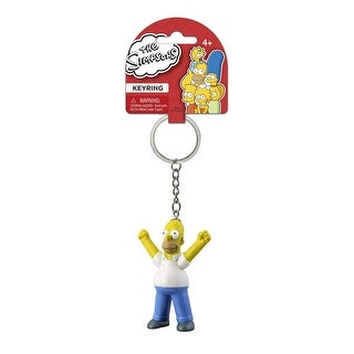 "The Simpsons PVC Figural Key Ring: ""Homer"""