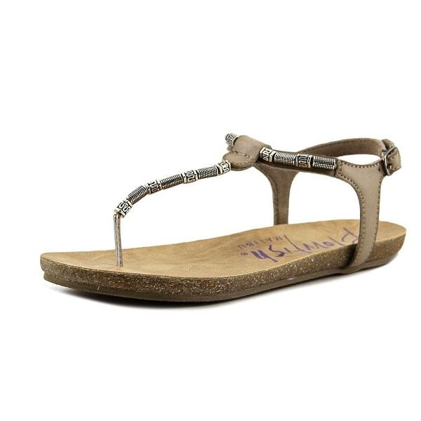 Blowfish Galoya Women Open-Toe Synthetic Tan Slingback Sandal