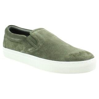 J/slides Mens Dimmi Khaki Suede Loafers Size 9