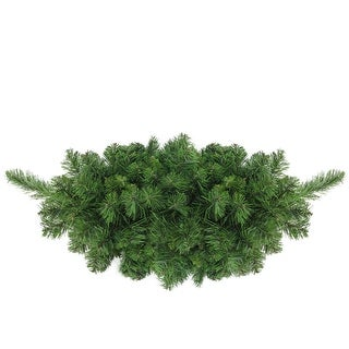 """32"""" Lush Mixed Pine Artificial Christmas Swag - Unlit"""