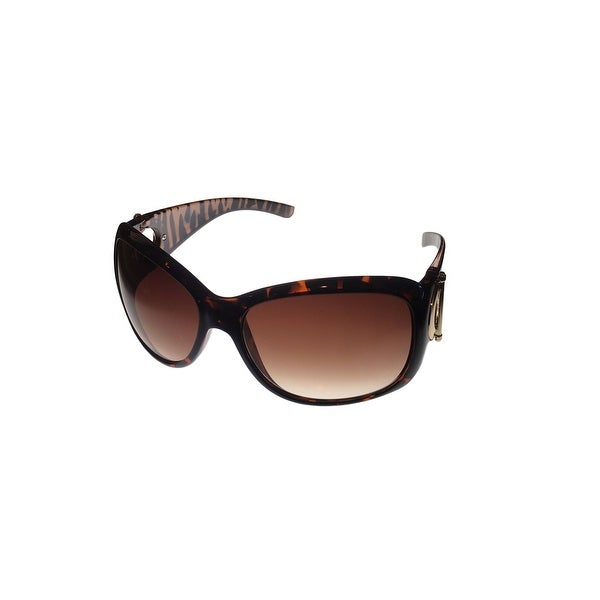 Kenneth Cole Reaction Womens Sunglass Tort. Rectangle, Gradient Lens KC1157 52F - Medium