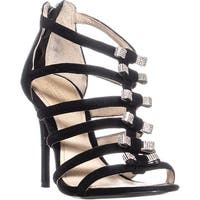 Coach Laila Heeled Sandals, Black - 6.5 us