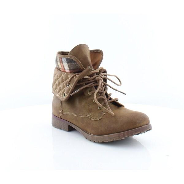 Rock & Candy by ZiGi Spraypaint Q Women's Boots Brown - 7