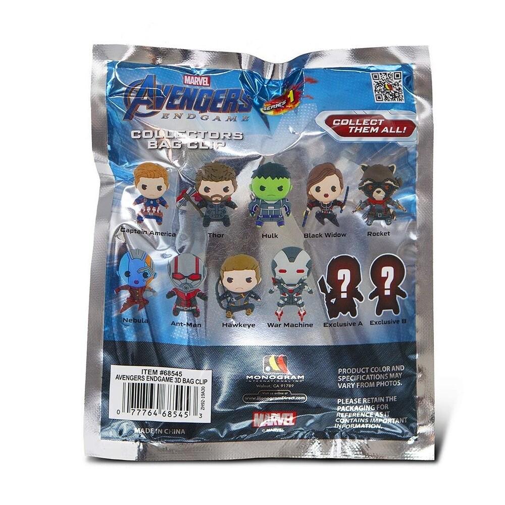 Monogram Marvel Avengers Endgame Ant-Man Bag Clip Key Ring Keychain Series 1