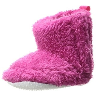 Luvable Friends Booties Infant Sherpa
