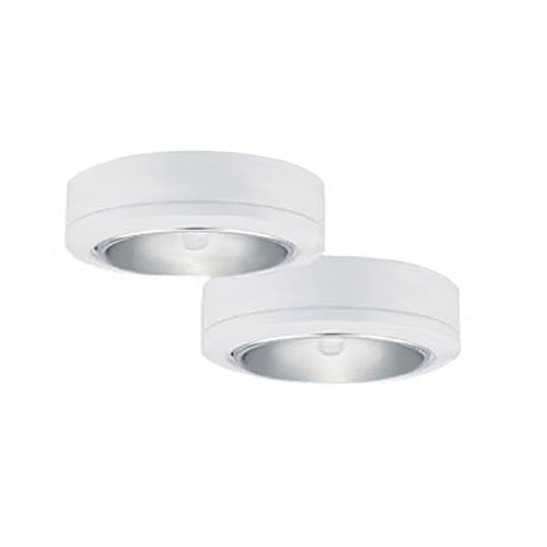 Sea Gull Lighting 9888-15 Ambiance LX Two-Light Plug-In Disk Kit, White