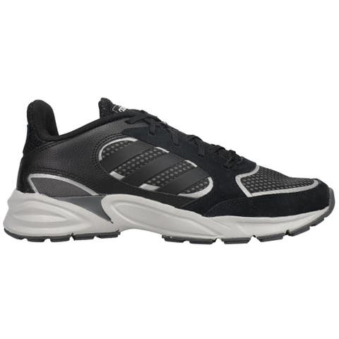 adidas 90S Valasion Mens Running Sneakers Shoes - Black