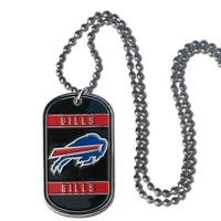 Buffalo Bills Necklace Tag Style