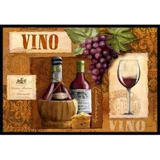 Carolines Treasures PTW2045MAT Vino Wine Indoor & Outdoor Mat 18 x 27 in.