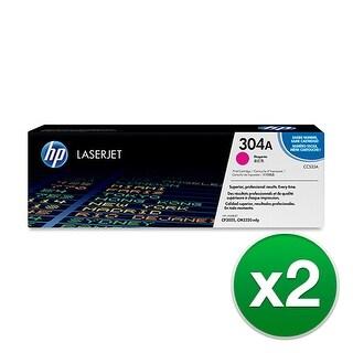 Hewlett Packard 304A Magenta Contract LaserJet Toner Cartridge CC533AC (2-Pack) Magenta Contract LaserJet Toner Cartridge