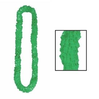 Club Pack of 144 Green Soft-Twist Leis 36''