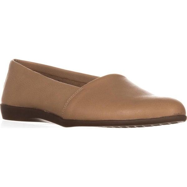 Aerosoles Trend Setter Slip-On Loafers, Light Tan Leather
