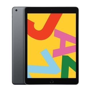 Link to Apple iPad 10.2-Inch Tablet (Late 2019, 128GB, Wi-Fi Only, Space Gray) Similar Items in Tablets