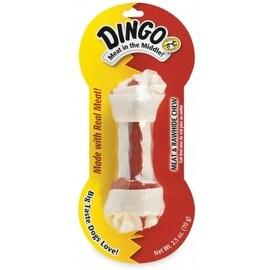 Dingo Brand Rawhide Bone Medium, White 1 ea