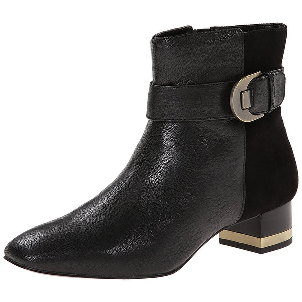 Circa Joan & David Women's Xetro Leather Ankle Boots