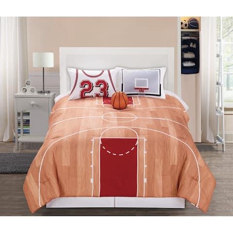 Riverbrook Home 4 Piece B-Ball Comforter Set