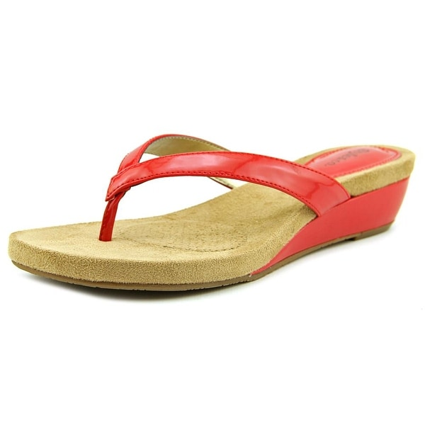 Style & Co Haloered Women Cadium Red Sandals