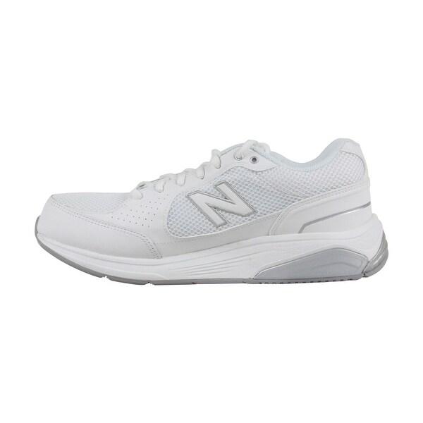 Shop New Balance Marche Mens White Mesh
