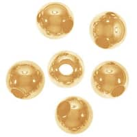 14K Gold Filled Seamless Round Beads 4mm (6)