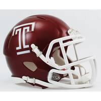 Temple Riddell Speed Mini Football Helmet
