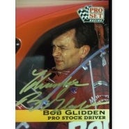 Signed Glidden Bob 1991 Pro Set Racing Card autographed