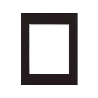 ADF Mat 11x14/8x10 WhtCore Black
