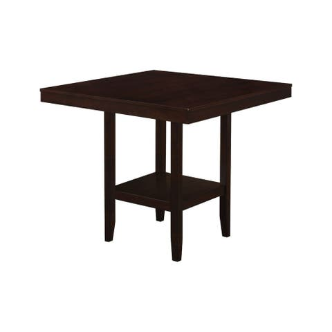 "Offex Dining Table - 42"" x 42"" Cappuccino Counter Height - Not Available"