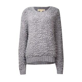 MICHAEL Michael Kors Women's Wool Blend Loop Sweater