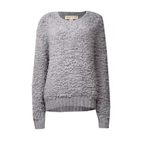 MICHAEL Michael Kors Women's Wool Blend Loop Sweater - pearl heather
