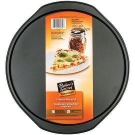 "Baker's Secret 1114423 Pizza Pan, 12"" x 0.35"""