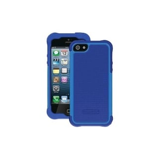 Ballistic Shell Gel Case for Apple iPhone 5 (Blue)