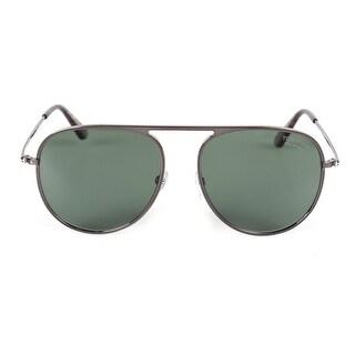Tom Ford Jason-02 FT0621 08R 59 Polarized Aviator Sunglasses - 59mm x 17mm x 145mm