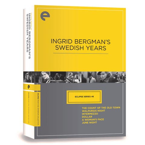 Ingrid Bergman's Swedish Years - DVD Movie Boxed Set - Region 1 (US & Canada)