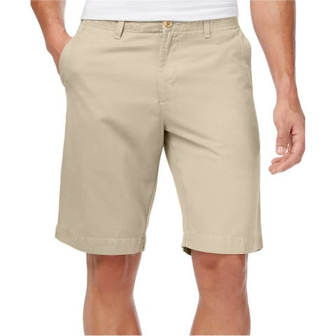 Tommy Bahama Mens Lounger Casual Chino Shorts, beige, Small