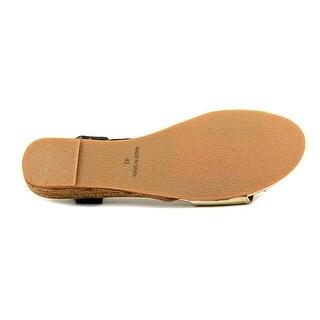 Eric Michael Amanda Women Black/Gold Sandals