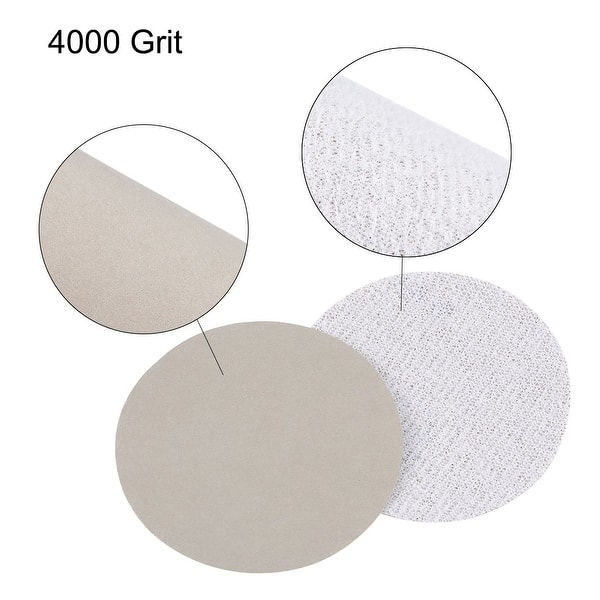 2 inch Wet Dry Discs 5000 Grit Hook and Loop Sanding Disc Silicon Carbide 20pcs