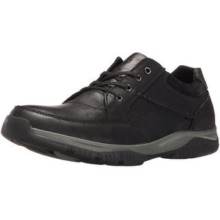 Propet Men's Village Walker Mid Oxford,Black Grain,8.5 X (US Men's