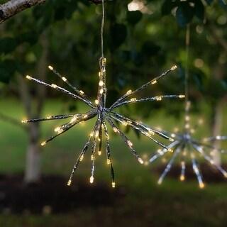 Solar LED Hanging Starburst Light - Burst