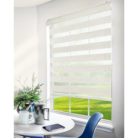 CHICOLOGY Everyday Cordless Zebra Shades, Light Filtering