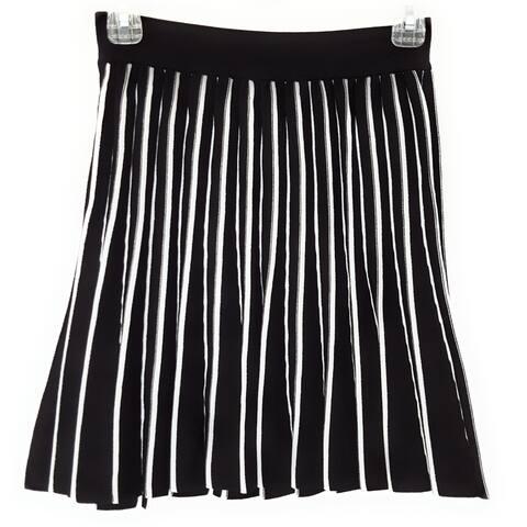 Kendall + Kylie Skirt, Black/White, Small