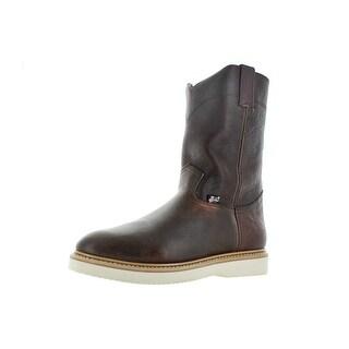 Justin Brands WK4909 Men's Steel Toe Wellington Work Boots