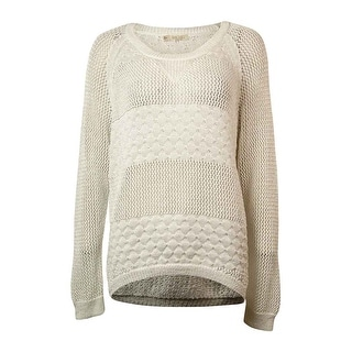 RACHEL Rachel Roy Women's Sheen Open-Knit Sweater