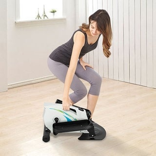 Link to Mini Elliptical Machine, Compact Fitness Under Desk/Stand Up Elliptical Similar Items in Cardio Equipment