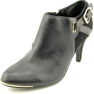 Marc Fisher Cyril3 Round Toe Synthetic Bootie